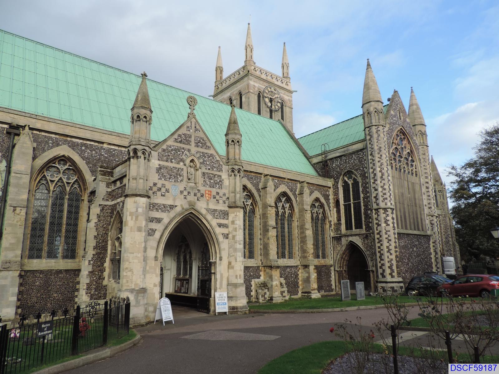Great Yarmouth Minster - Church Plain, Great Yarmouth, UK ...