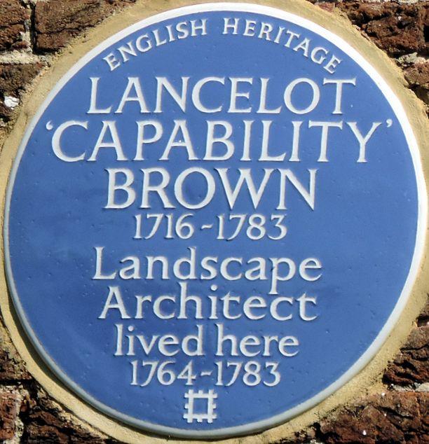 Lancelot 39 capability 39 brown hampton court gardens for Capability brown garden designs